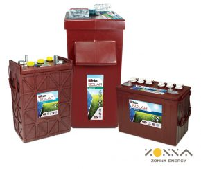 flooded batteries from zonna energy tojan battery supplier