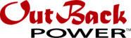 outback power solar inverter supplier made in usa logo