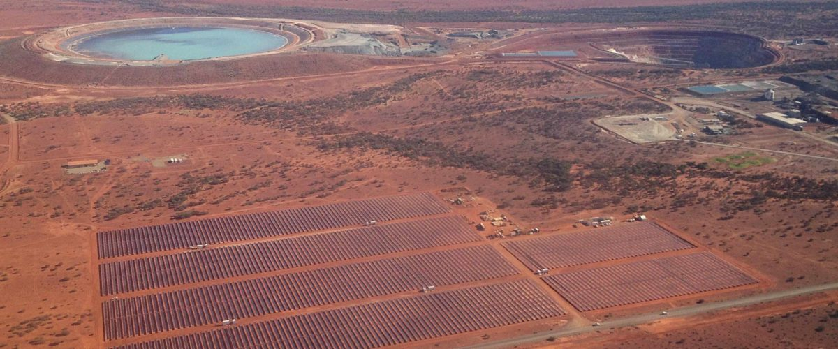 degrussa off grid solar array projects