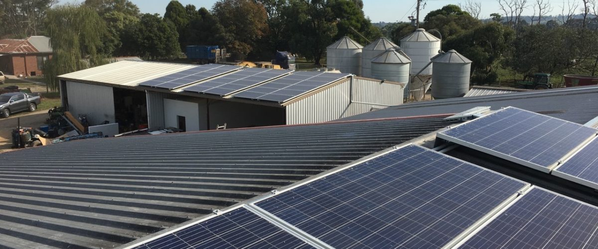 off grid solar array projects in australia