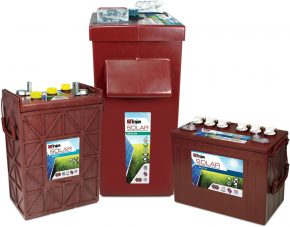 trojan battery supplier solar